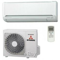 Mitsubishi SRK25ZSP Air Conditioner 2.5kWith3kW Wall Mount Air Conditioning System