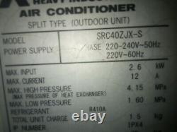 Mitsubishi air conditioning unit R410A