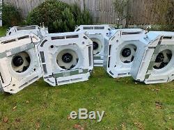 More than £14k Daikin air conditioning 2 Compact heat pump units & 6 casset