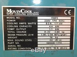 MovinCool 15SFE 230v Portable Air Conditioning Room Conditioner Aircon Unit