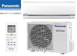 Panasonic Air Conditioning Domestic Heat/Cool 3.5kw Wall Mounted Heat Pump