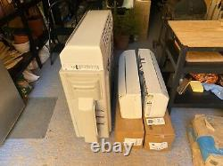 Panasonic multi air conditioning unit 3 indoor units in white 2.5KW each indoor