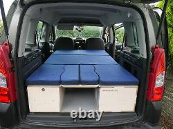 Peugeot Partner Teepee Campervan with Amdro Boot Jump Unit and Awning