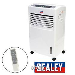 Portable 8L 70W Air Cooler Unit & Remote Control Flow Swing Conditioning Fan