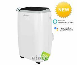 Portable Air Conditioner Wi-Fi 14000 BTU Unit, White Air Conditioning Centre