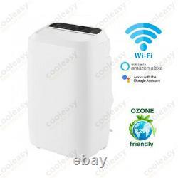 Portable Air Conditioning Unit 14000 BTU 4.0kw Heat Pump Wifi Voice Control New