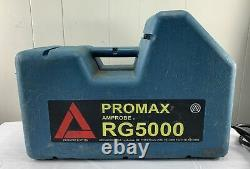 Promax RG5000 Refrigerant Gas & Air Conditioning Recovery Unit Machine
