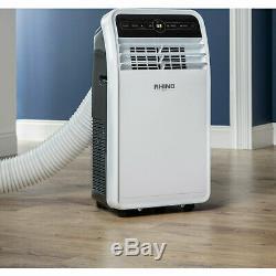 Rhino AC9000 Portable Air Con Unit Fan 9000 BTU Rhino Conditioning H03620 996255
