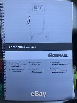 Robinair Cooltech Pro Garage Car Air Conditioning AC Recharge Unit Machine