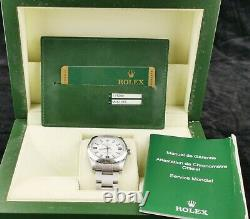 Rolex Air King 114200 from 2007/8. Boxed with papers. Mint condition