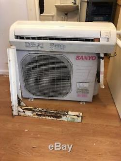 SANYO AIR CONDITIONING UNIT WALL MOUNT 3.5kW 13000BTU SAP-CR123EH SAP-KR123EH