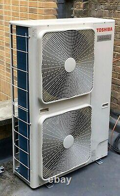 TOSHIBA AIR CON with 2No 7.0kW ceiling indoor unit split R410A