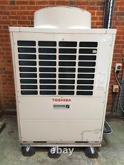 TOSHIBA SUPER MODULAR MULTI SYSTEM (8 x INDOOR UNITS) 45KW COMPLETE SYSTEM