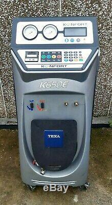Texa 650E Fully Auto Automatic Air Con AC Conditioning Machine Unit