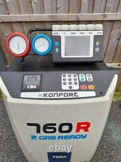 Texa 760R R1234yf New Gas Fully Auto AC Air Con Conditioning Machine Unit