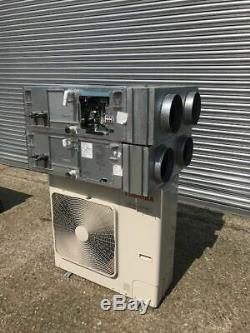 Toshiba Ducted Air Conditioning System, 2 Ducted Units And Outdoor Unit