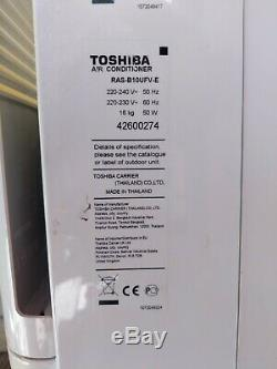 Toshiba Klima Air-conditioning Unit Split System Fully Working. Hardly used