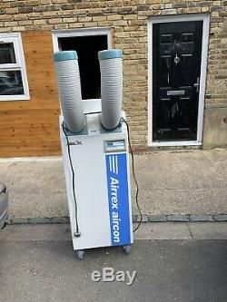 Used portable air conditioning unit