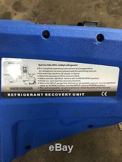 Vehicle Air Conditioning Refrigerant Gas Recovery Unit Machine R134a & 1234YF