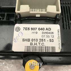 Volkswagen T5 Heater Control Panel 7E5 907 040 AD