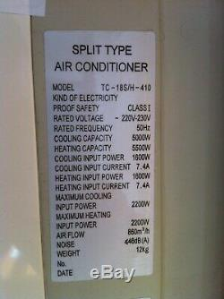 Wall Mounted Split Type Air Conditioning Unit