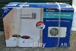 Wickes 1 Room Air Conditioning System 25m2 Interior & Exterior Units New Boxed